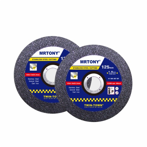 125x1x16mm thin cutting disc for stainless steel