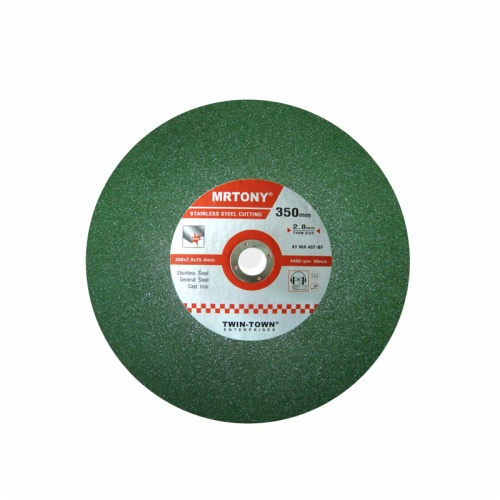 350X2.8X25.4 Thin cutting disc for stainless steel