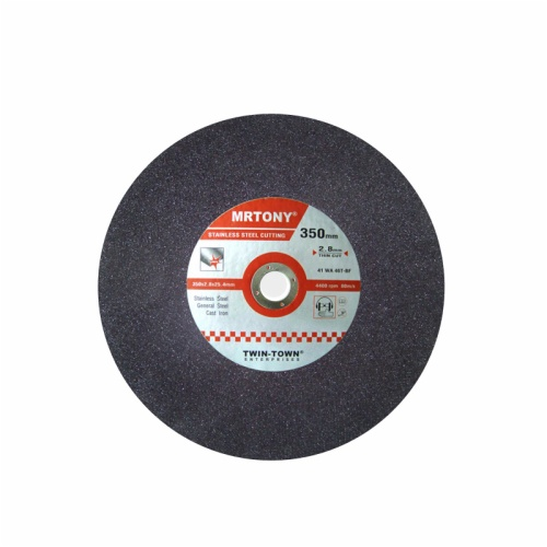 350x2.8x25.4mm thin cutting disc for stainless steel 1