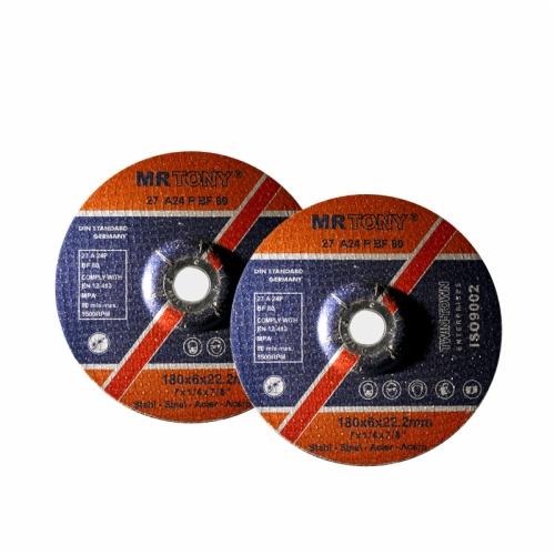 depressed center grinding disc for metal